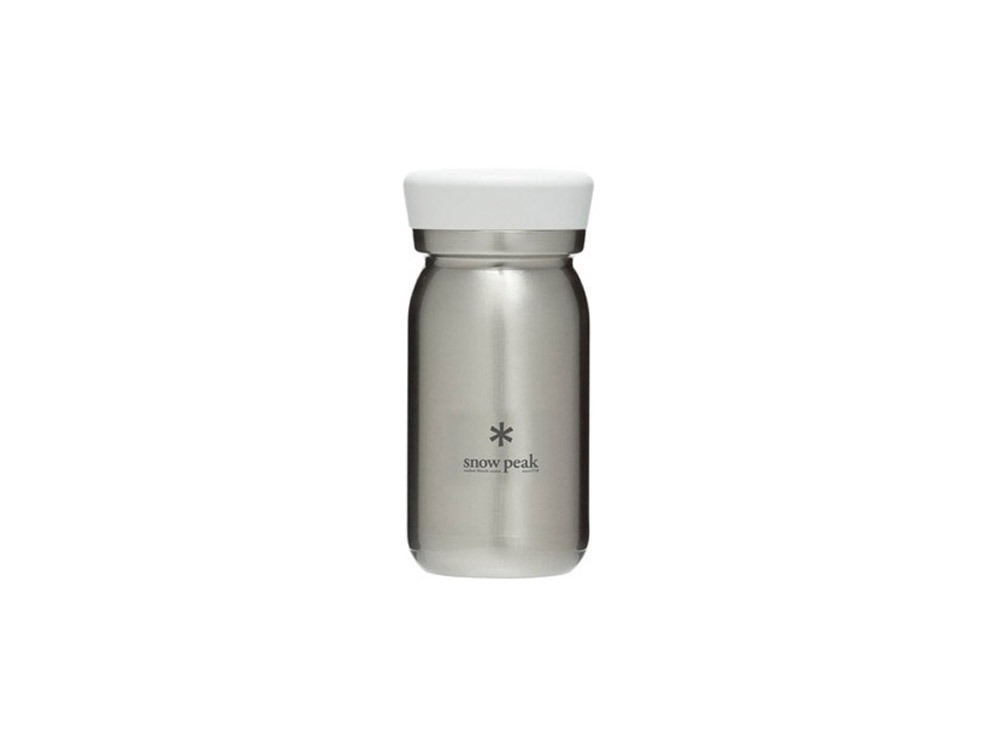 스노우피크 스텐보온병 M350 클리어(TW-351CL)/SNOWPEAK STAINLESS VACUUM BOTTLE MILK 350 CLEAR_C9SK002CL